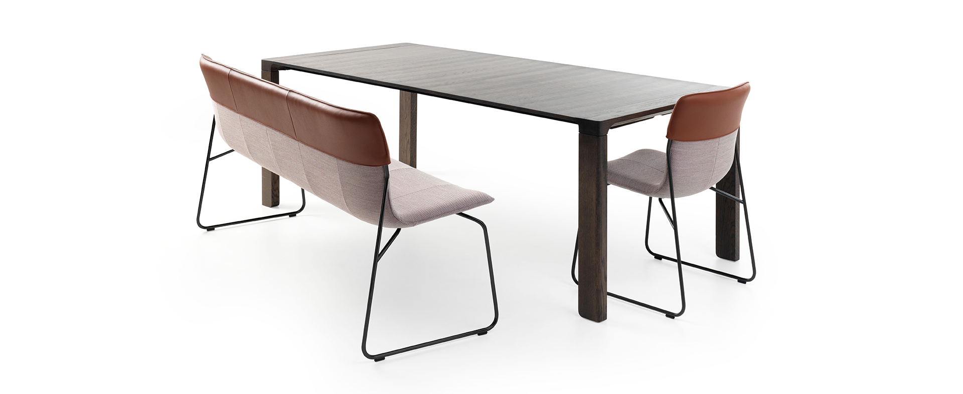 Design Diningroom bench Didore by Leolux